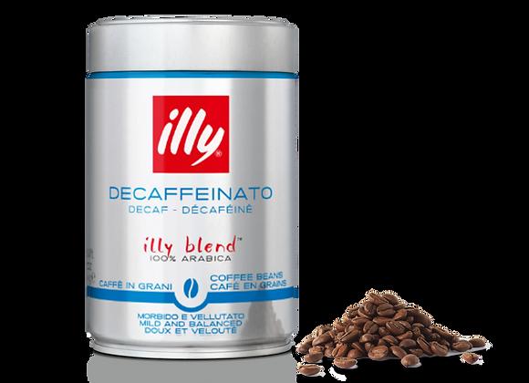 Café en grano DESCAFEINADO (Lata 250g)