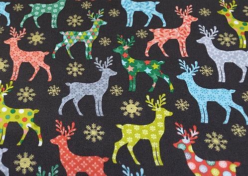 Makower Reindeer Colours