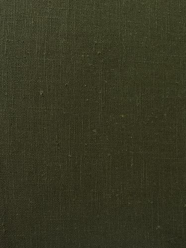 Linen weave Ramie  Dark Green