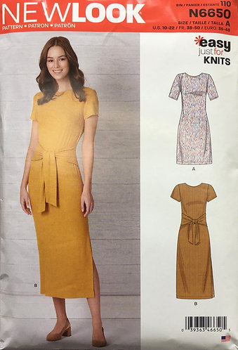 New Look 6650 Easy for Knits
