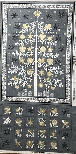 Scandi Tree Advent Calendar Panel