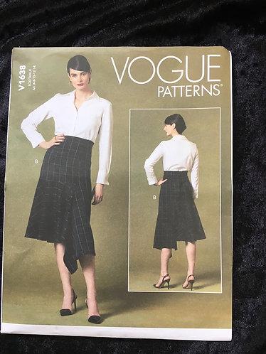 Vogue 1638 Skirt Pattern