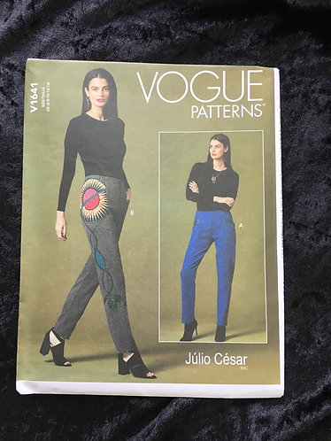 Vogue 1641 Trouser Pattern