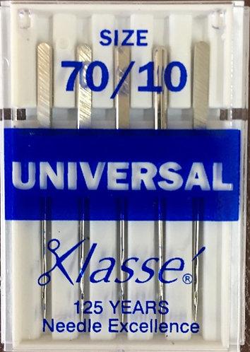 Universal 70/10 needles