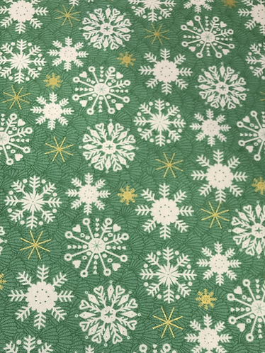 Merry Snowflake - Green