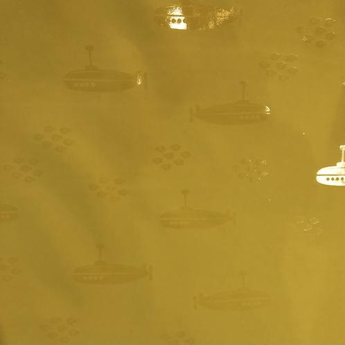 Yellow Submarine Raincoat Fabric