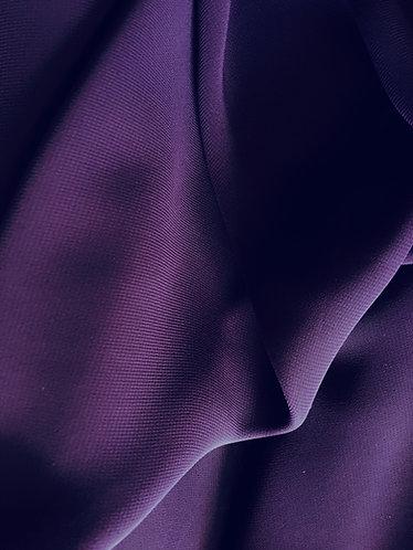 100% Polyester Chiffon purple
