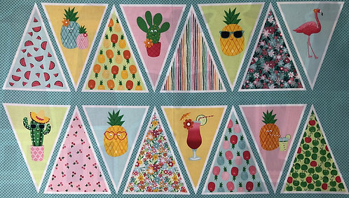 Fruity Friends Bunting Panel