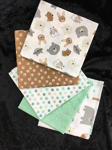 Fat Quarter Bundle    Woodland