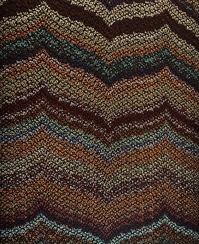 Chevron Knit - multicolour