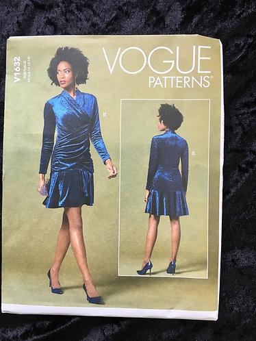Vogue 1632 Dress pattern