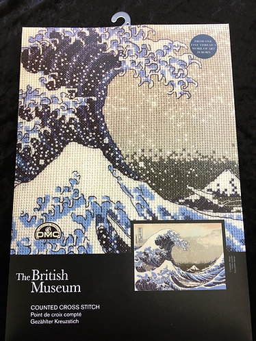 Great Wave cross stitch kit
