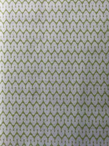 Tilda zig zag green
