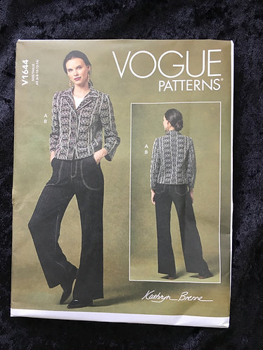 Vogue1644 Trouser pattern