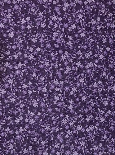 Alison's ditzy florals - purple
