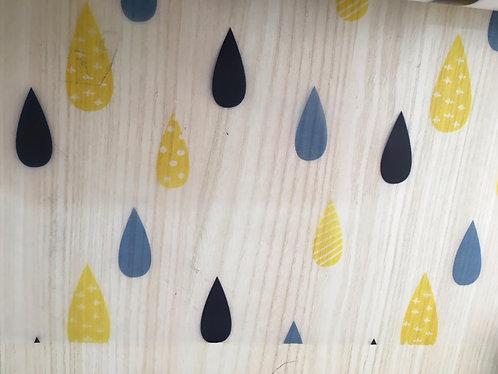 Transparent raincoat fabric