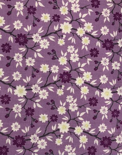 Kimono blossom tree - purple