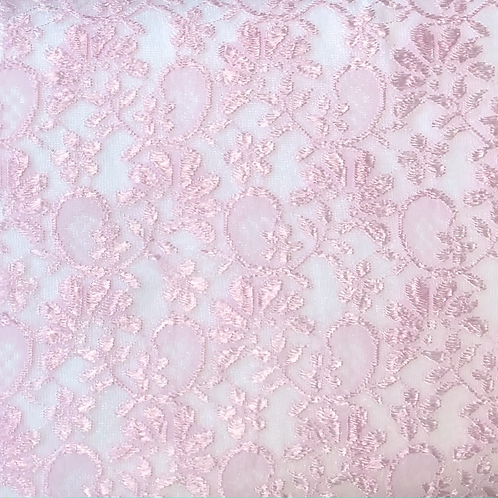 Baby pink Lace