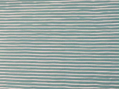 Seersucker stripe - green