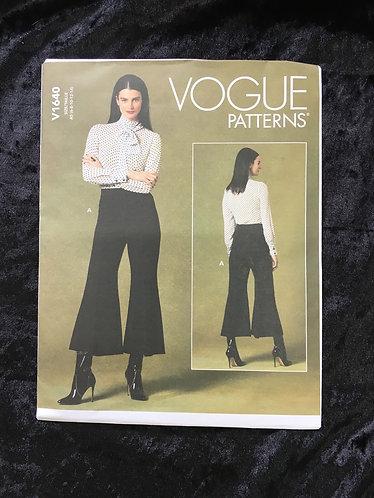 Vogue 1640 Trouser Pattern