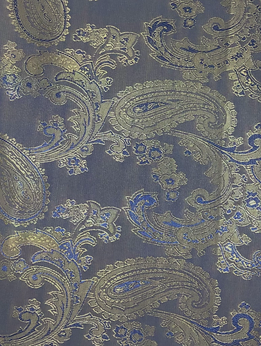 Two Tone Paisley Lining