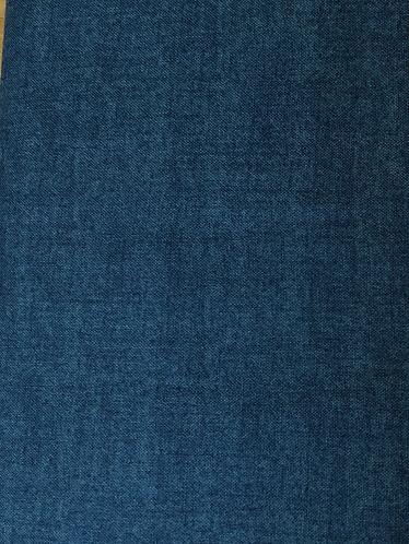 Makower Linen texture Denim