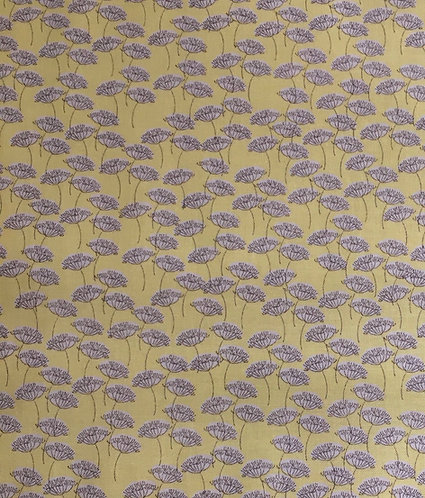 Inprint Fabrics Cow Parsley on yellow