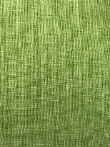Linen weave Ramie- lime green