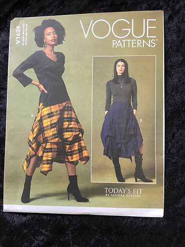 Vogue 1639 Skirt Pattern