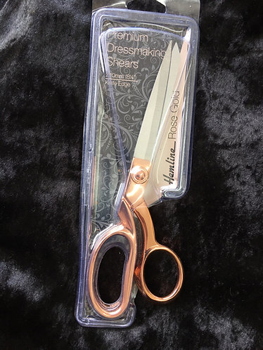 Hemline Rose Gold dressmaking Shears 8 inch