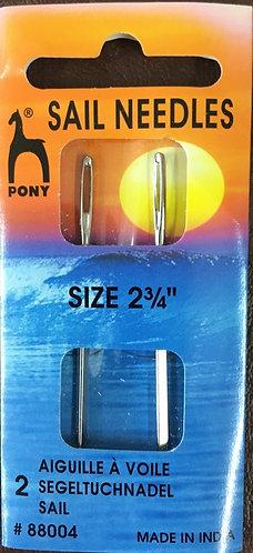 Sail Needles size 2 2/4 inch