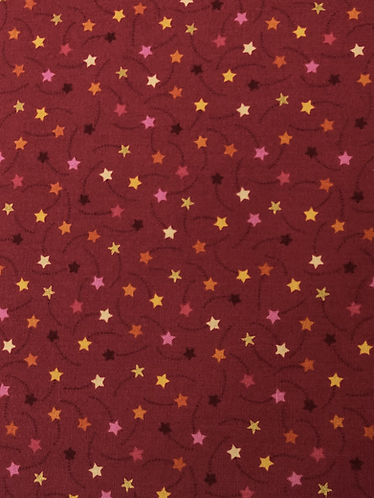 Festive Shooting Stars - Red