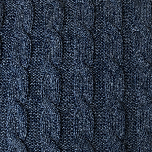 100% Cotton Cable Knit