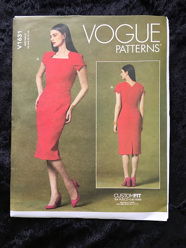 Vogue 1631 dress pattern