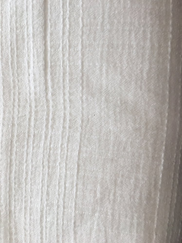 100% cotton cheesecloth white