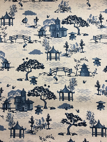 Makower Indigo Willow Pattern