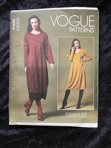 Vogue 1634 dress pattern