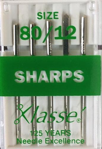 Sharp needles size 80/12