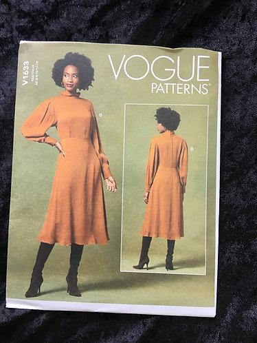 Vogue 1633 Dress Pattern