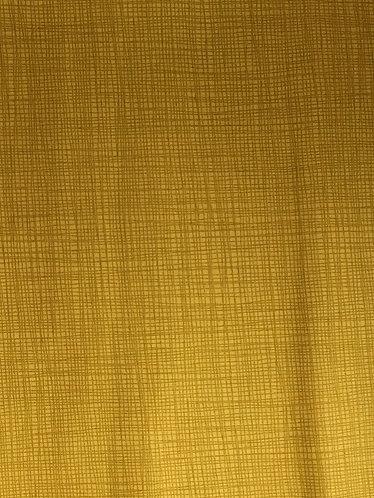 Makower Linea Mustard