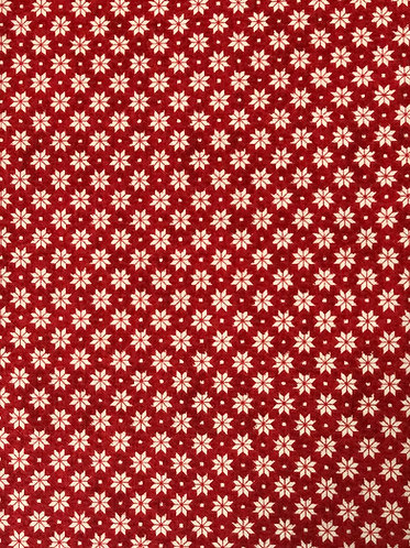 Nordic Snowflake - red