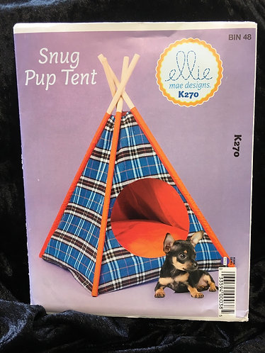 Kwik Sew K270 Ellie Mae pup Tent