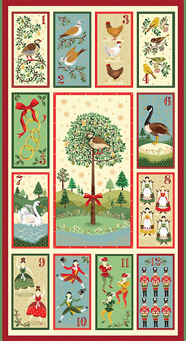12 days of Christmas Panel