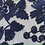 Thumbnail: ribbon stitched lace voile - navy