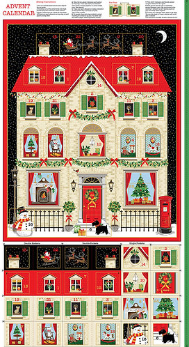 House Advent Calendar Panel