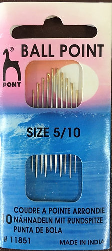Ballpoint Needles  Size 5/10