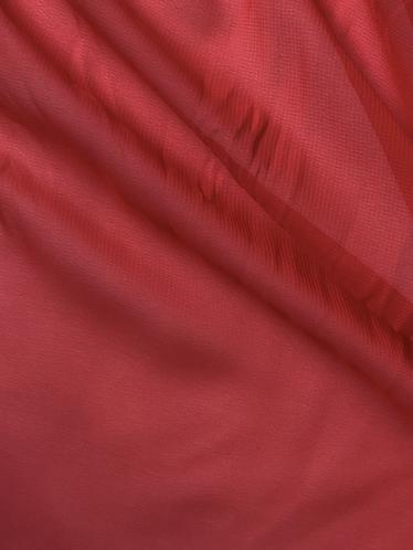 Polyester Chiffon -  Scarlet
