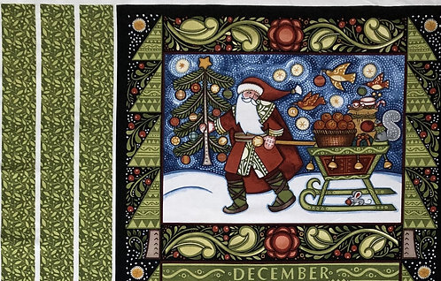 Julen Advent Calendar Panel