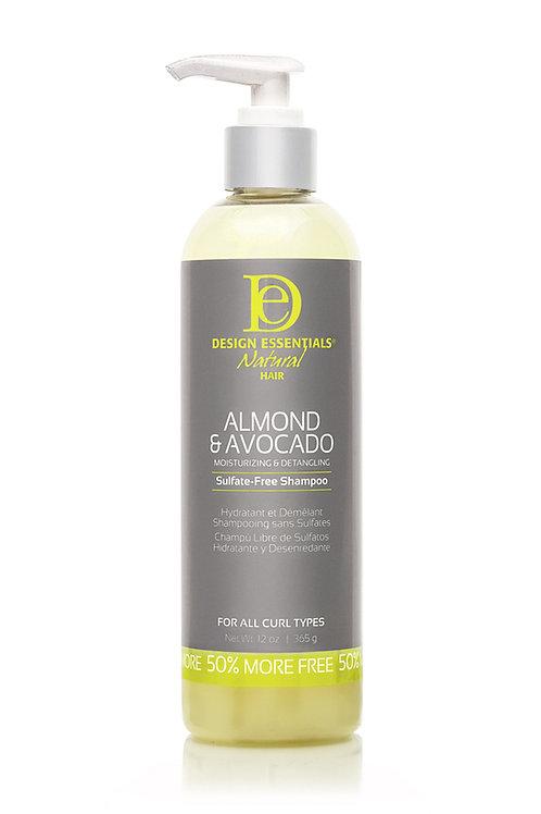 Almond & Avocado Sulfate-Free Detangling Shampoo  Almond & Avocado Sulfate-Free