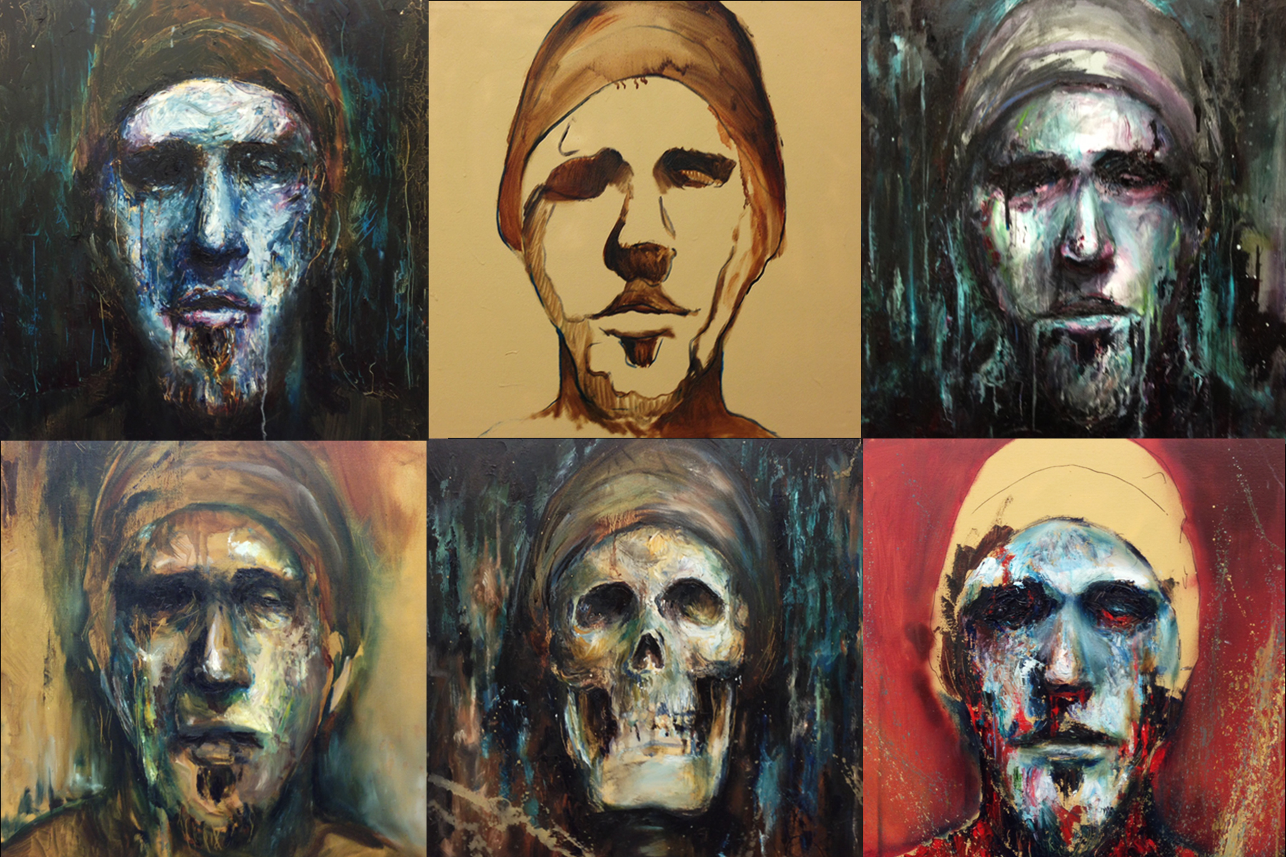 """Excerpts from """"Self Portraits 1-24"""""""